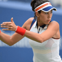 Andy Taylor. Announcer. 2017 US Open. Round-1. Day-1. Garbine Muguruza defeats Varvara Lepchenko