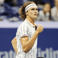 Andy Taylor. Announcer. 2017 US Open. Round-1. Day-1. Alexander Zverev defeats Darian King