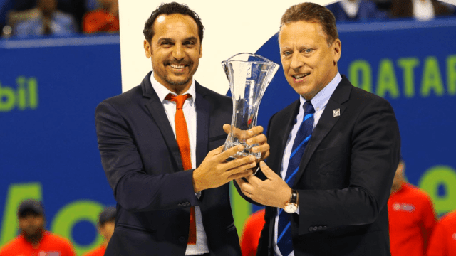 Andy Taylor. Announcer. Qatar ExxonMobil Open 2018. The Qatar ExxonMobil Open wins ATP-250 Tournament of the Year