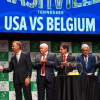 Davis Cup Tennis Host Andy Taylor. 2018 World Group Quarterfinal Nashville