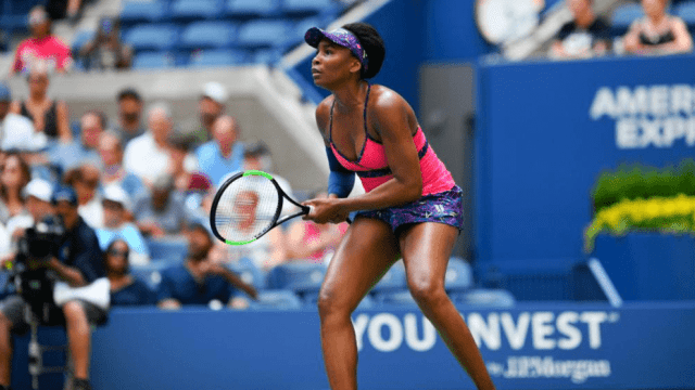 Andy Taylor Announcer. 2018 US Open Round-1. Venus Williams defeats Svetlana Kuznetsova
