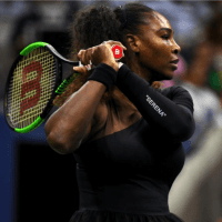 Andy Taylor Announcer. 2018 US Open Round-1. Serena Williams defeats Magda Linette