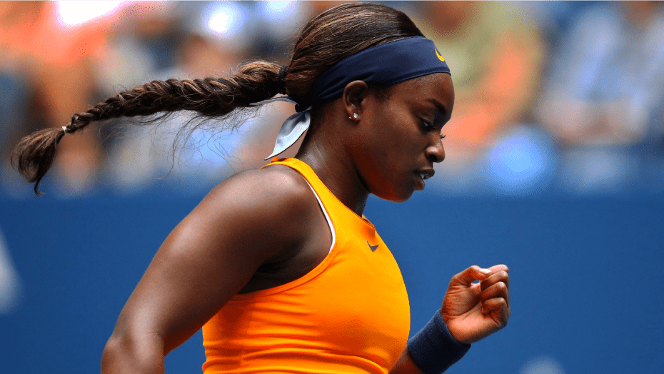 Andy Taylor Announcer 2018 US Open 024 Sloane Stephens Round-3