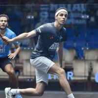 Andy Taylor Announcer 2018 Qatar Classic Quarterfinal Victory Ali Farag