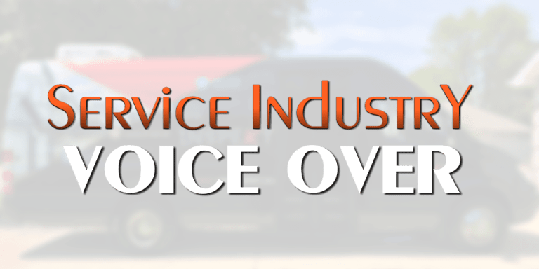 Voice Over Andy Taylor. Service Industry