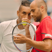 Andy Taylor Announcer. 2019 US Open. Nick Kyrgios and Marius Copil Round 1