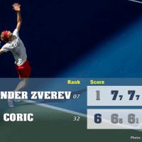 Announcer Andy Taylor. 2020 US Open. Quarterfinal Alexander Zverev