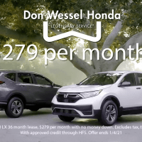 Voice Over Andy Taylor. Don Wessel Honda. 2020 Year End Clearance Savings