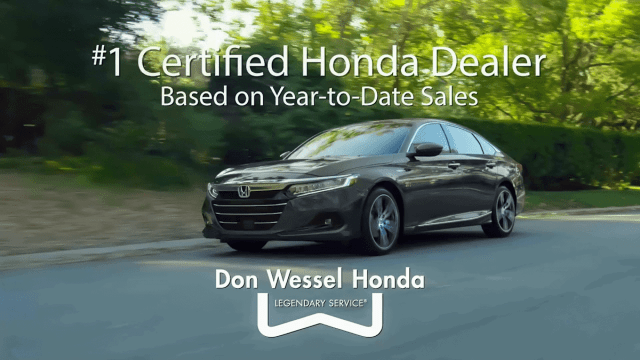 Voice Over Andy Taylor. Don Wessel Honda. 0.99% Certified Pre-Owned