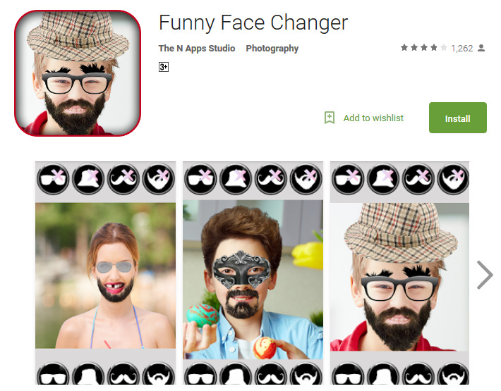 Funny Face Photo Frame App | Amtframe org