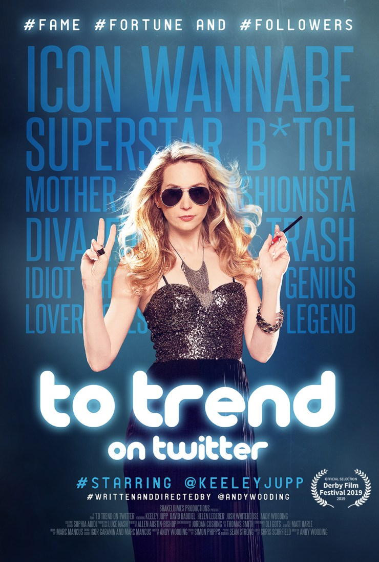 To Trend on Twitter film poster derby film festival Andy Wooding