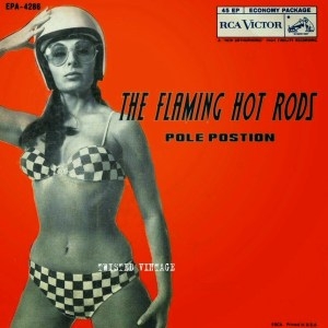 flaming hot rods vintage record