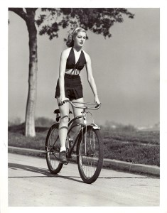 Mary Beth Hughes Rides a Bike, 1939 (2)