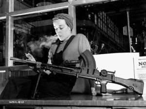 Vintage Photos of  Girl with Pistol (28)