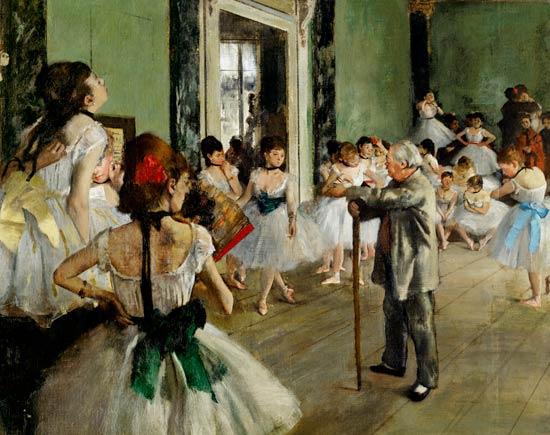 Edgar Degas - Clasa de dans