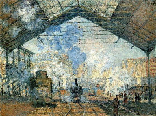 monet - La_Gare_Saint-Lazare
