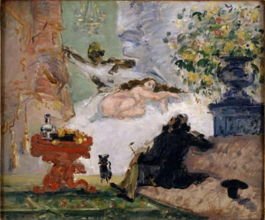 Cezanne - O Olympia Moderna