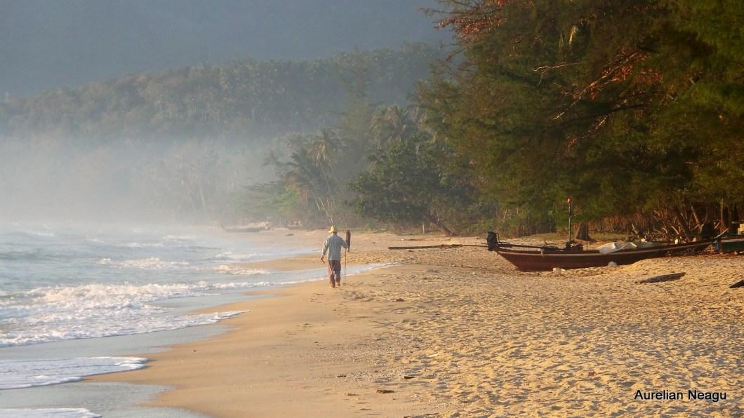 Khanom Thailanda plaja