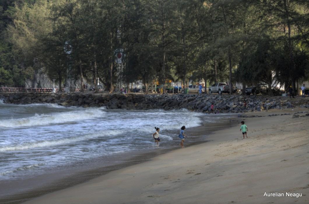plaja din zona Khanom
