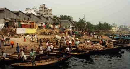 Dhaka harbour