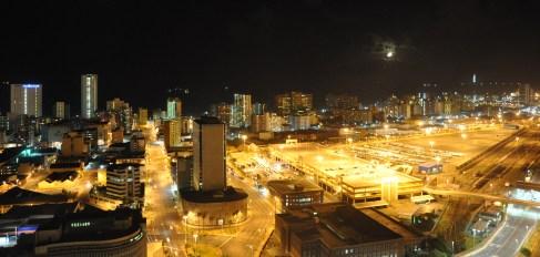 Durban at night time