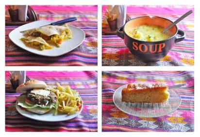 4 course menu del día