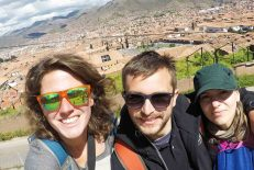 On top of a hill in Cusco