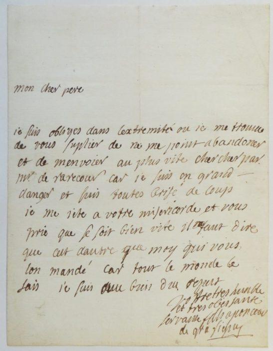 Graffigny letter