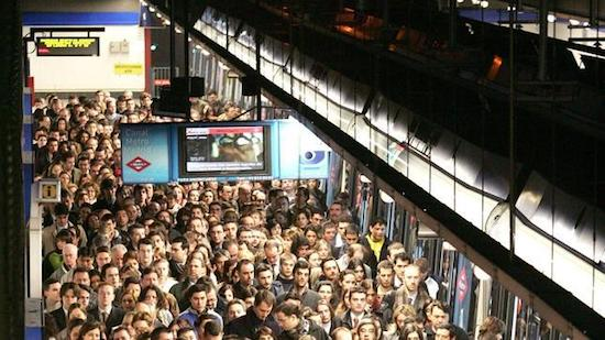 anden metro madrid