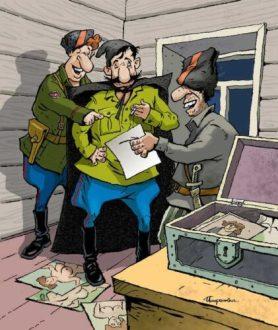 Василий Иванович,— спрашивает Петька,— что такое «двойные стандарты»?