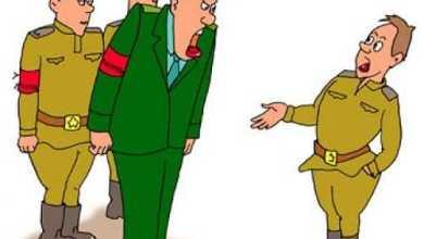 Анекдоты - Рядовой, вы что, два плюс два умножить не в состоянии?
