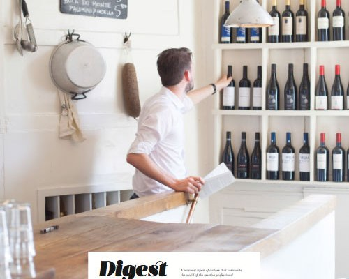 New magazine for the creative professional — Digest