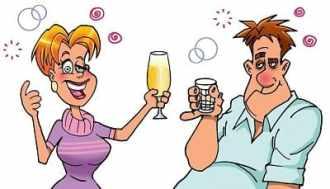 Анекдоты - Утро, морозец, по улице передвигается радостный алкоголик