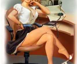 Анекдоты - Вызывает начальник к себе в кабинет молодую секретаршу