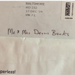 Mrs. Banks, according to USPS