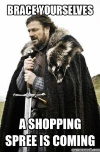 stark shopping meme