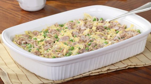 tuna noodle casserola
