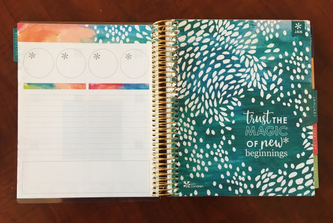 monthly notes page erin condren