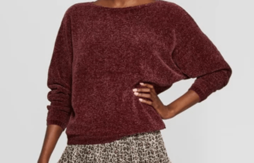Chenille pullover A NewDay Target