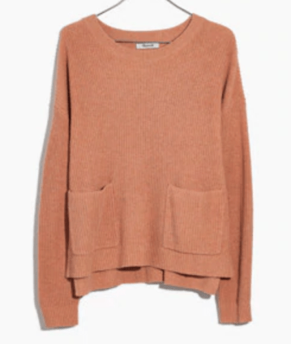 Madwell patch pocket sweater