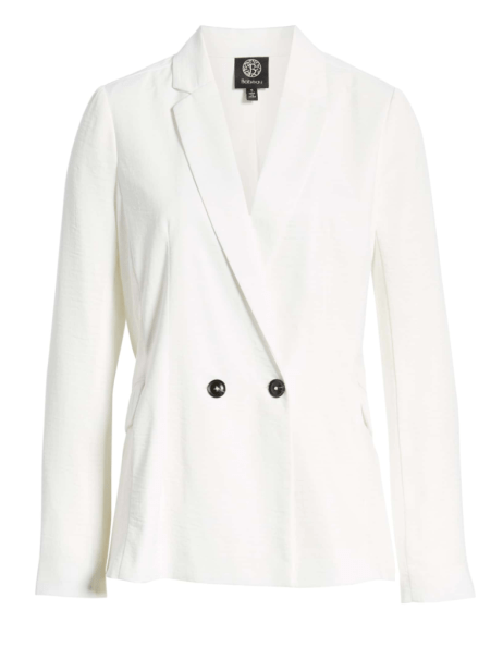 Bobeau Double Breasted Blazer