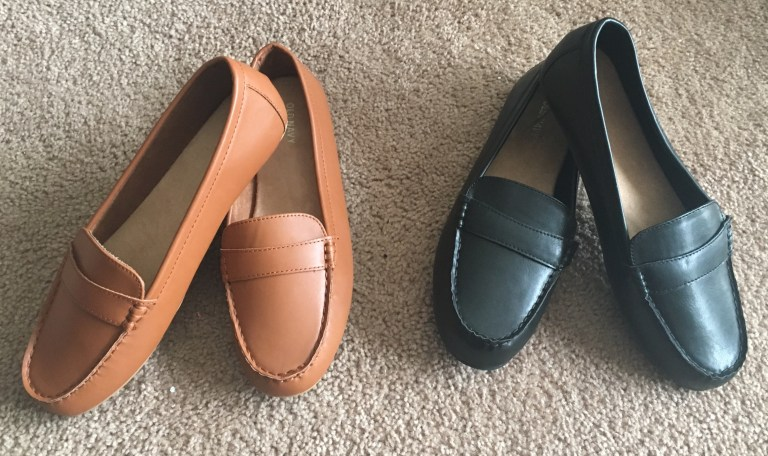 Faux Leather Driving Moccasins