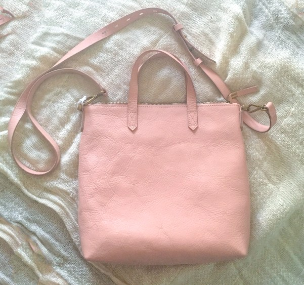 Madewell Zip Top Transport Tote