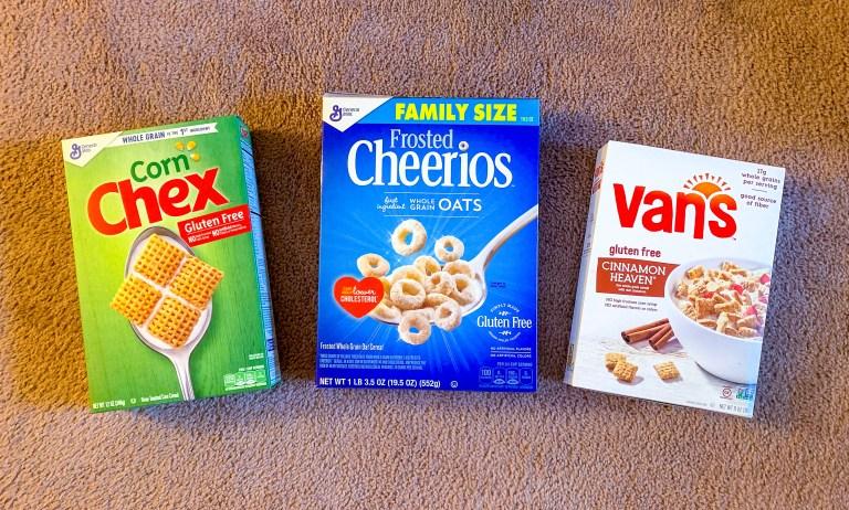 favorite gluten-free cereals