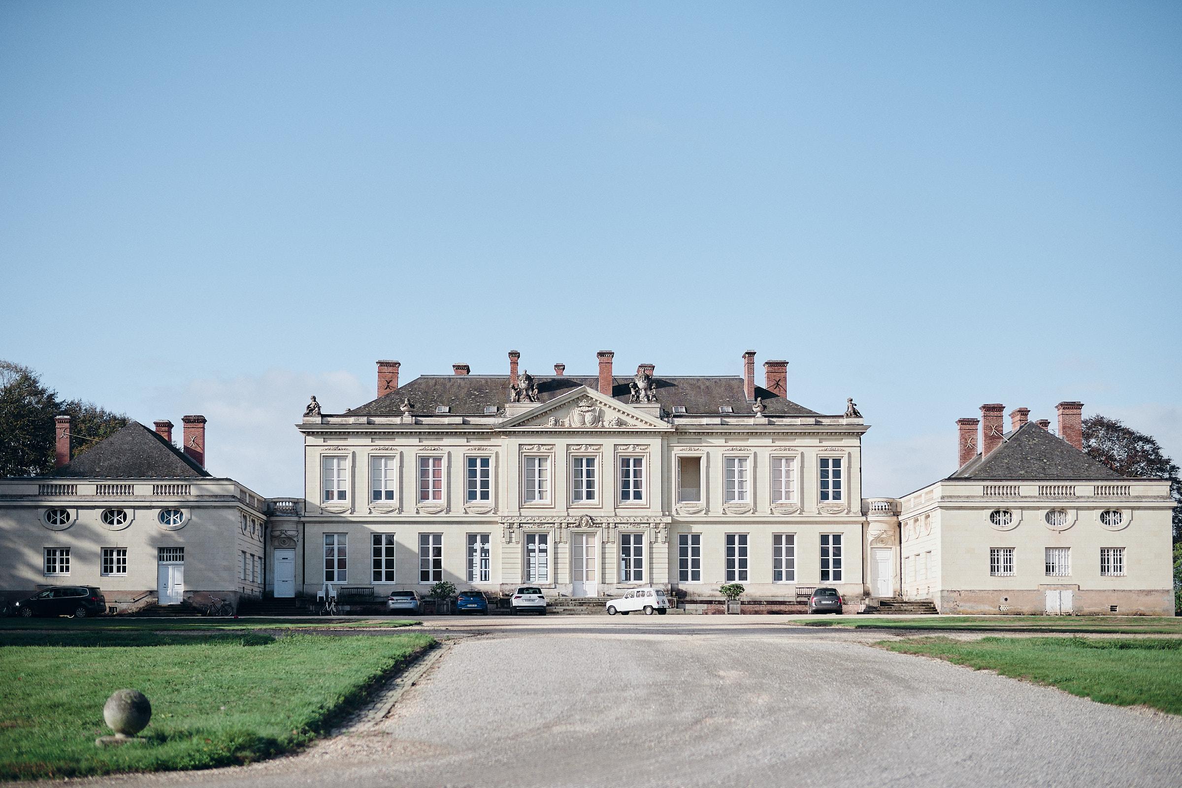 façade nord du chateau de craon