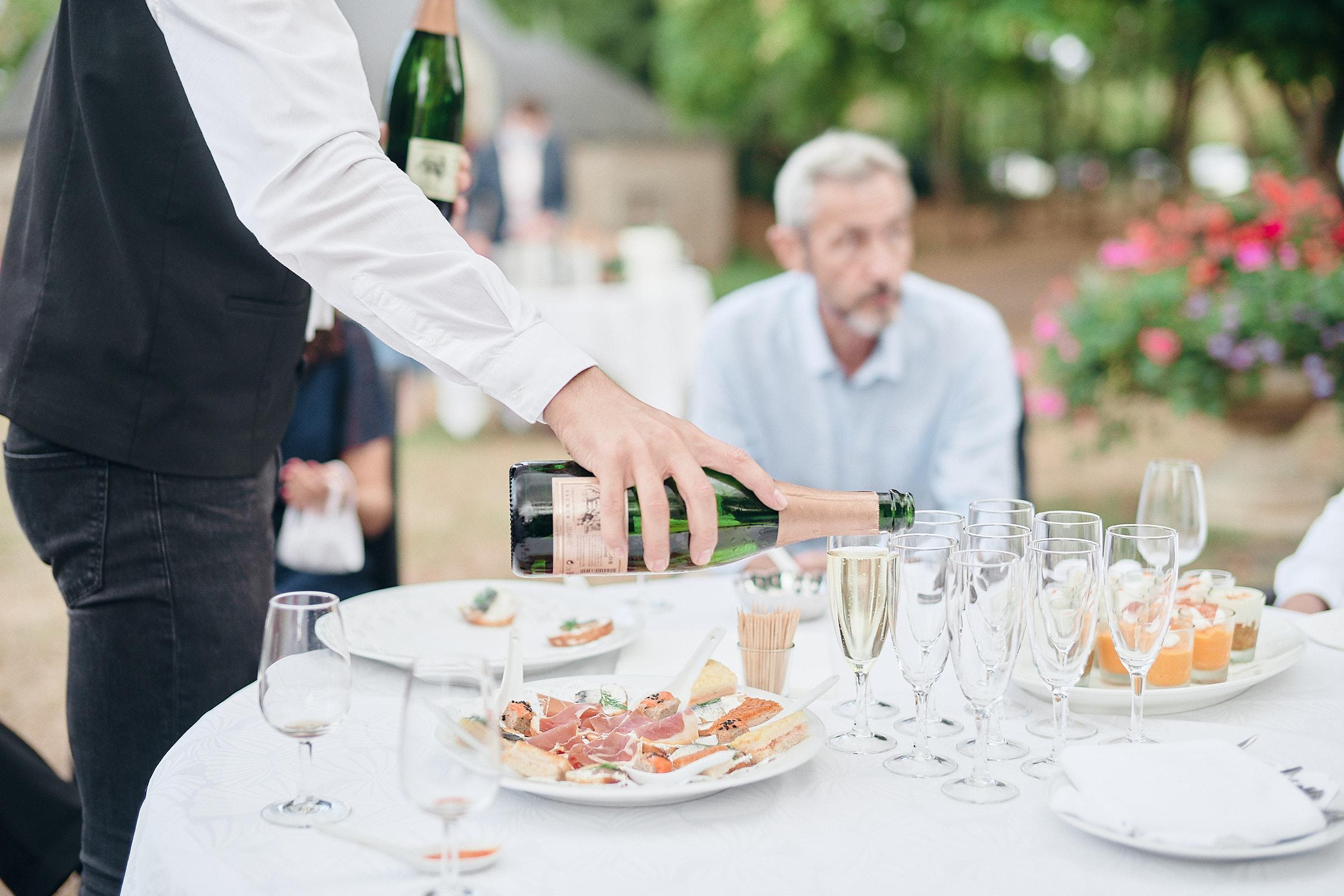 debut du vin d'honneur