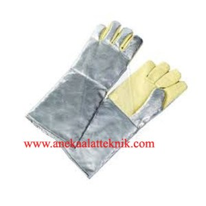 Jual Aluminized Protective Gloves AL165 Blue Eagle