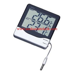 Jual Digital Thermo Hygrometer Digital Indoor Outdoor Thermometer