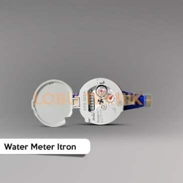water meter itron dn20 ukuran 3/4 inch