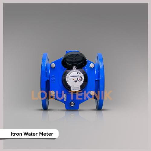 jual water meter itron dn100 ukuran 4 inch
